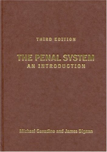 9780761947424: The Penal System: An Introduction, Third Edition