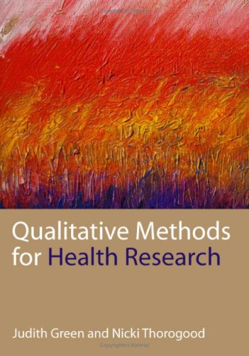 9780761947707: Qualitative Methods for Health Research (Introducing Qualitative Methods series)