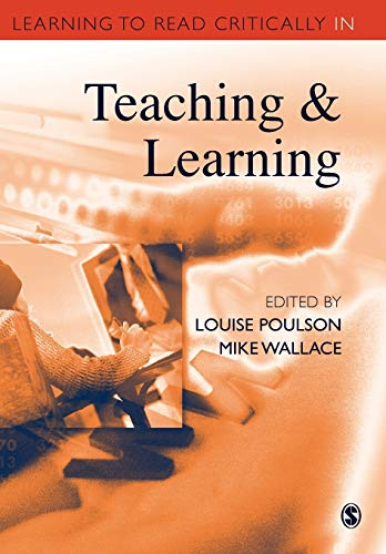 9780761947981: Learning to Read Critically in Teaching and Learning: 515 (Learning to Read Critically series)