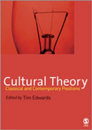 9780761948629: Cultural Theory: Classical and Contemporary Positions