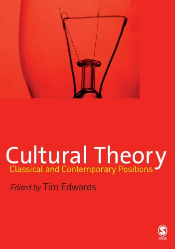 9780761948636: Cultural Theory: Classical and Contemporary Positions