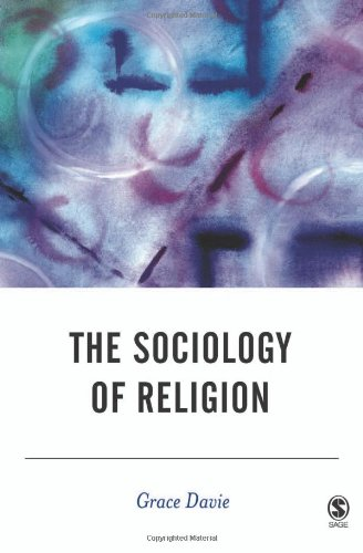 9780761948926: The Sociology of Religion (BSA New Horizons in Sociology)