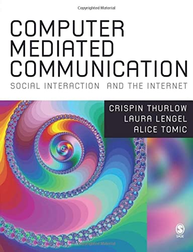 Computer Mediated Communication: Alice Tomic; Lara