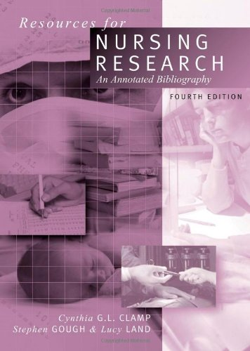 9780761949916: Resources for Nursing Research: An Annotated Bibliography