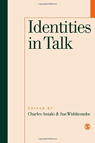 9780761950615: Identities in Talk