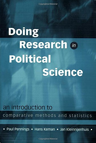 9780761951032: Doing Research in Political Science: An Introduction to Comparative Methods and Statistics