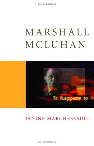 9780761952640: Marshall McLuhan (Core Cultural Theorists series)