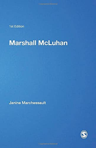 9780761952657: Marshall McLuhan (Core Cultural Theorists series)