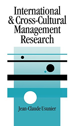 9780761952800: International and Cross-Cultural Management Research (SAGE series in Management Research)