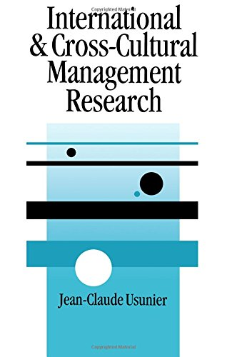 9780761952817: International and Cross-Cultural Management Research (SAGE series in Management Research)