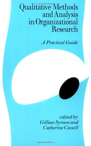 9780761953517: Qualitative Methods and Analysis in Organizational Research: A Practical Guide