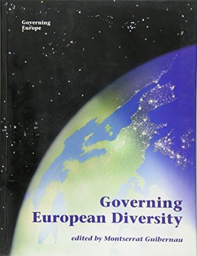 9780761954644: Governing European Diversity (Governing Europe series)