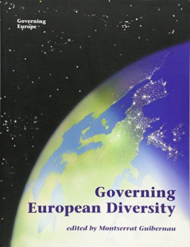 9780761954651: Governing European Diversity (Governing Europe series)