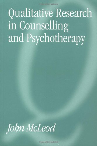 9780761955061: Qualitative Research in Counselling and Psychotherapy
