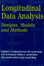 9780761955375: Longitudinal Data Analysis: Designs, Models and Methods