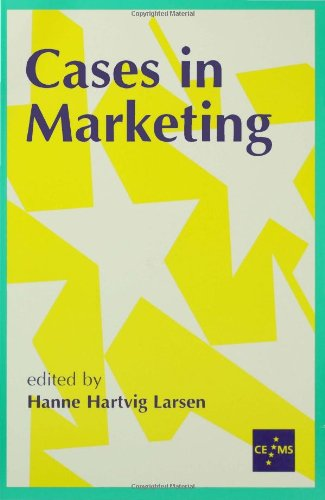 9780761955702: Cases in Marketing (European Management series)