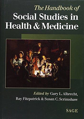9780761956174: The Handbook of Social Studies in Health and Medicine