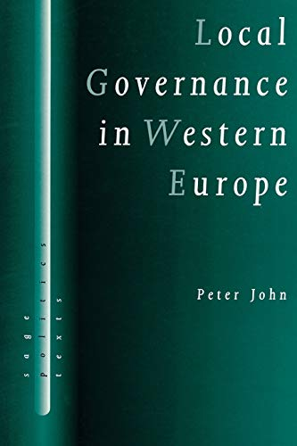 9780761956372: Local Governance in Western Europe (SAGE Politics Texts series)