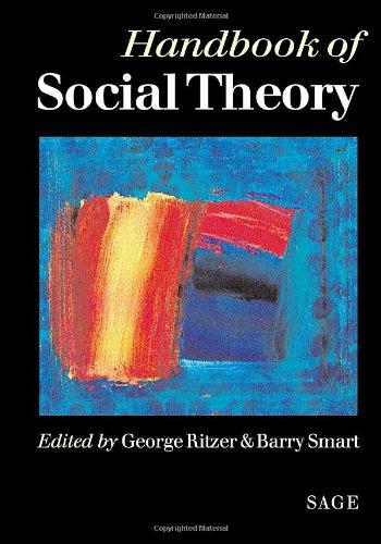 9780761958406: Handbook of Social Theory