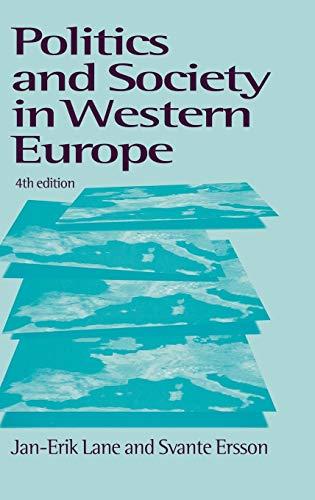 9780761958611: Politics & Society in Western Europe