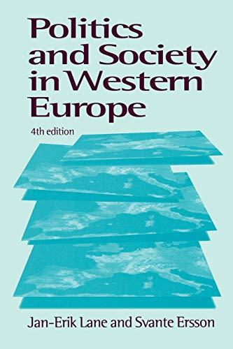 9780761958628: Politics & Society in Western Europe