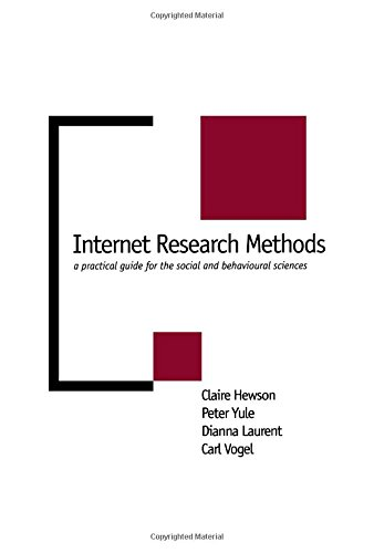 9780761959205: Internet Research Methods: A Practical Guide for the Social and Behavioural Sciences (New Technologies for Social Research series)