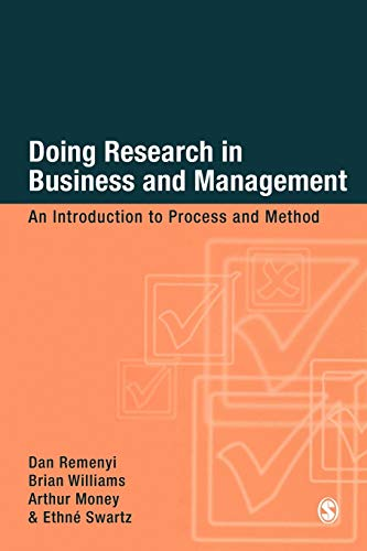 9780761959502: Doing Research in Business and Management: An Introduction to Process and Method