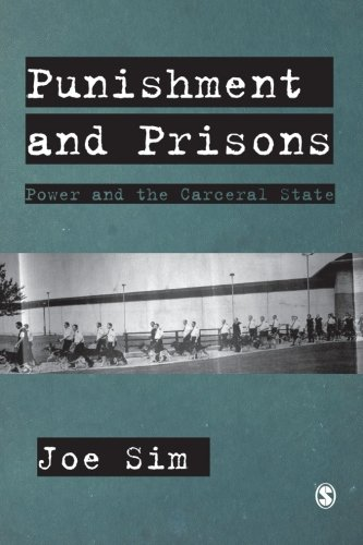 9780761960041: Punishment and Prisons: Power and the Carceral State