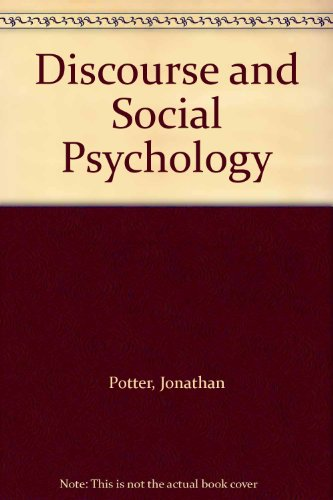 9780761960379: Discourse and Social Psychology