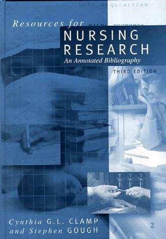 9780761960652: Resources for Nursing Research: An Annotated Bibliography