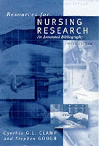 9780761960669: Resources for Nursing Research: An Annotated Bibliography