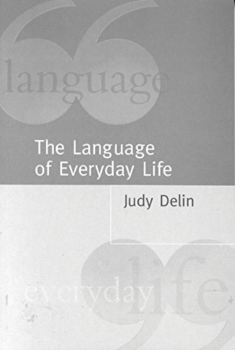 9780761960898: The Language of Everyday Life: An Introduction