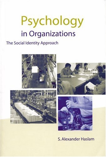 9780761961574: Psychology in Organizations: The Social-Identity Approach