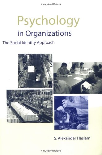 9780761961581: Psychology in Organizations: The Social-Identity Approach