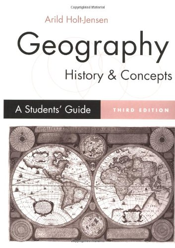 9780761961802: Geography - History and Concepts: A Student′s Guide