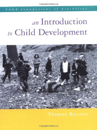 9780761962205: An Introduction to Child Development (SAGE Foundations of Psychology series)