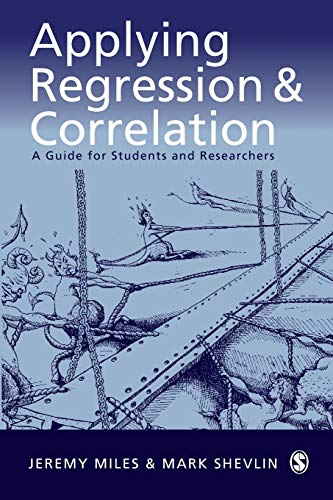 9780761962304: Applying Regression and Correlation: A Guide for Students and Researchers