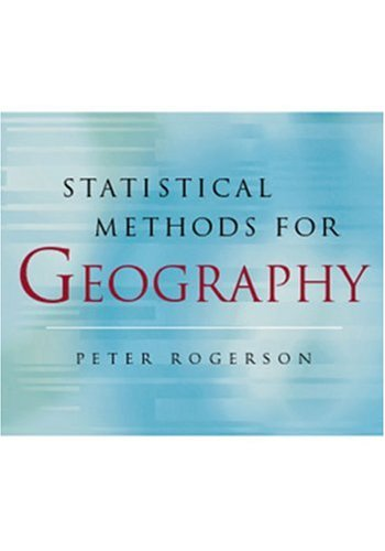 9780761962878: Statistical Methods for Geography
