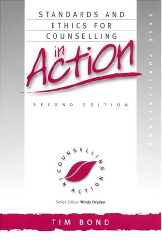 9780761963080: Standards and Ethics for Counselling in Action (Counselling in Action series)