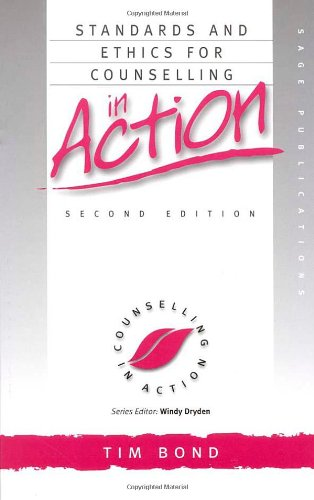 9780761963097: Standards and Ethics for Counselling in Action (Counselling in Action series)