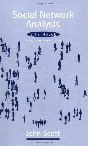 9780761963387: Social Network Analysis: A Handbook