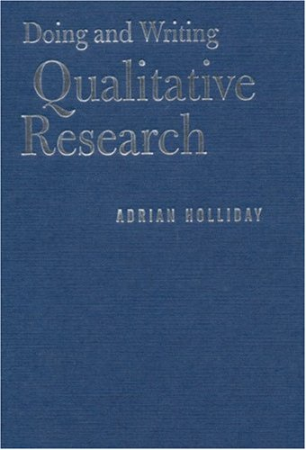 9780761963912: Doing and Writing Qualitative Research