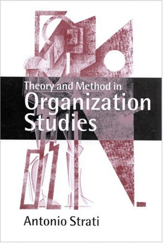 9780761964018: Theory and Method in Organization Studies: Paradigms and Choices