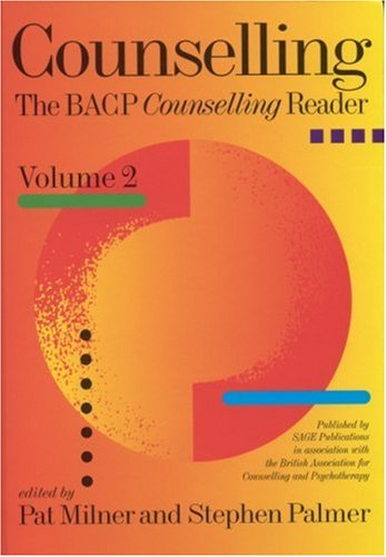 9780761964193: Counselling: The BACP Counselling Reader: v. 2