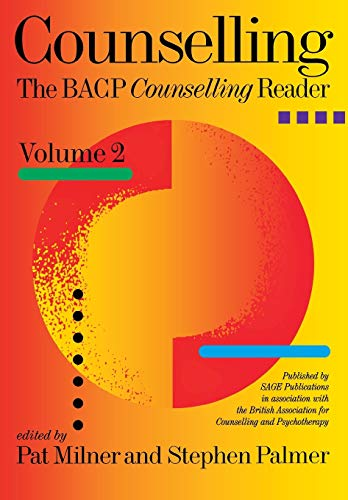 9780761964209: Counselling: The BACP Counselling Reader Volume Two: v. 2