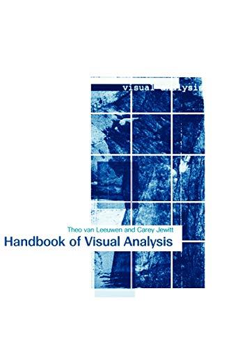 9780761964766: Handbook of Visual Analysis
