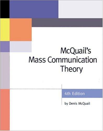 9780761965466: McQuail's Mass Communication Theory