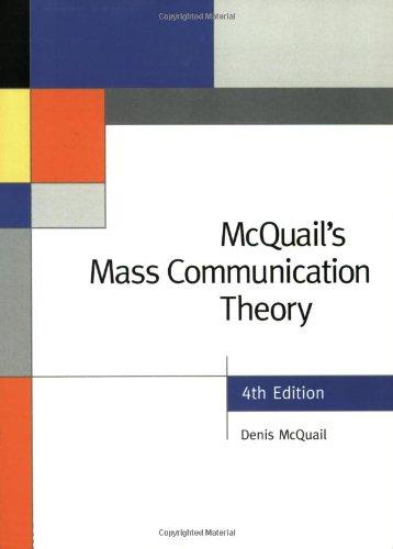 9780761965473: McQuail's Mass Communication Theory