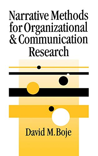 9780761965862: Narrative Methods for Organizational & Communication Research (SAGE series in Management Research)