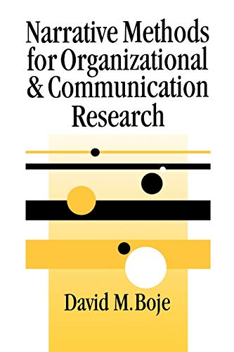 9780761965879: Narrative Methods for Organizational & Communication Research (SAGE series in Management Research)